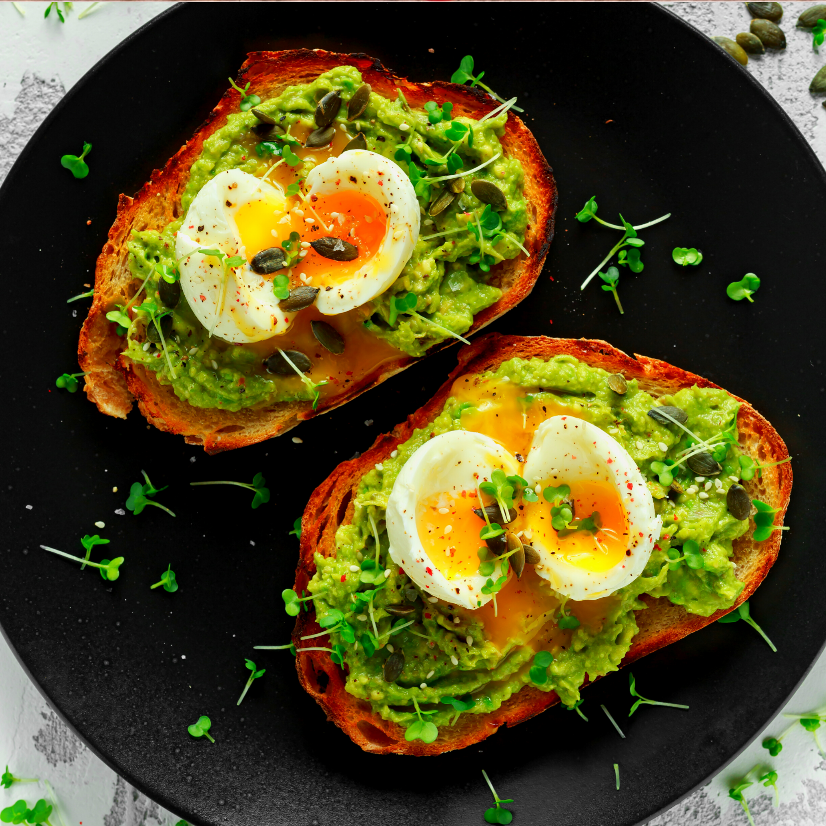Eggs on toast Lemons and Leaves Nutrition Counseling