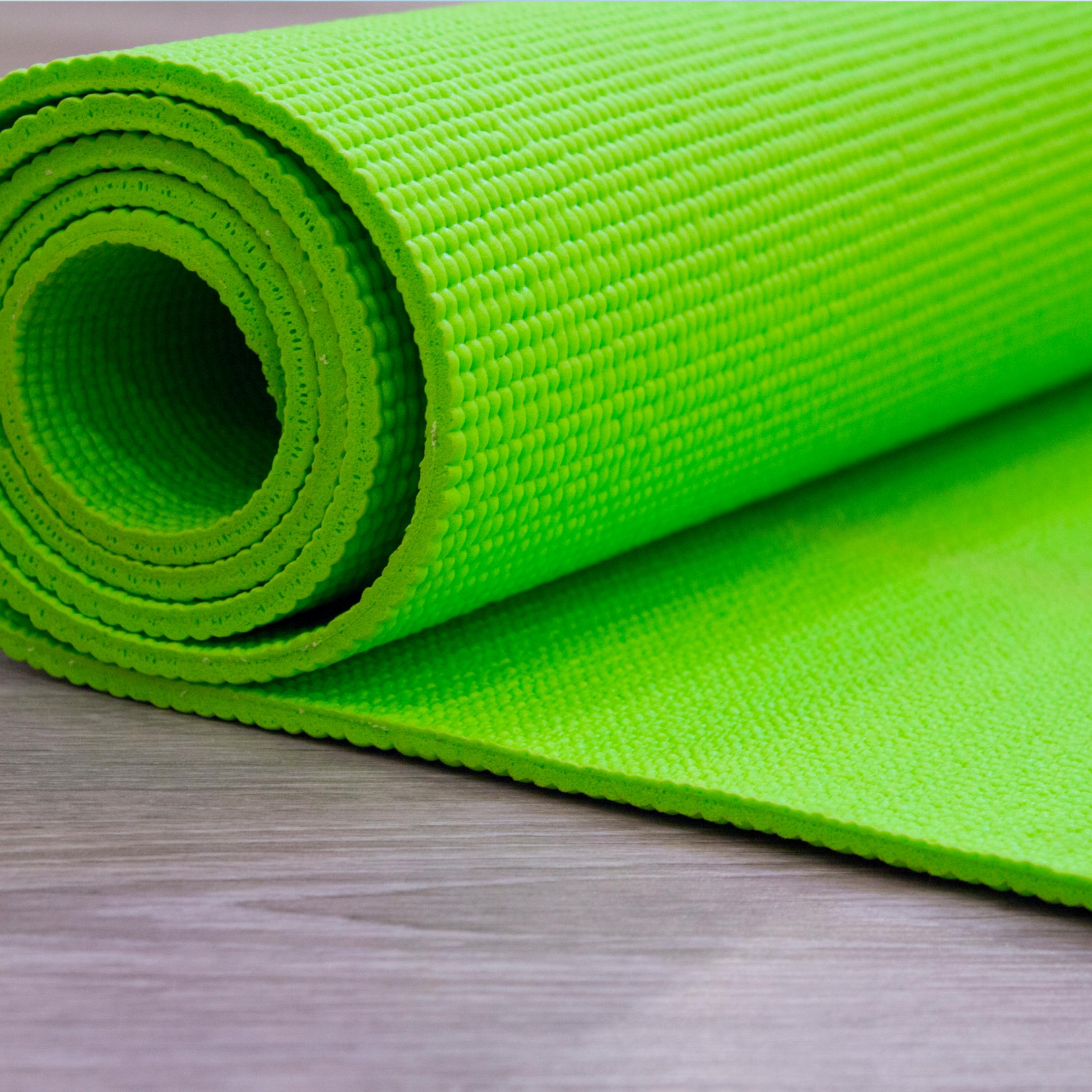 Green Mat depicting Exercise/ Movement Services