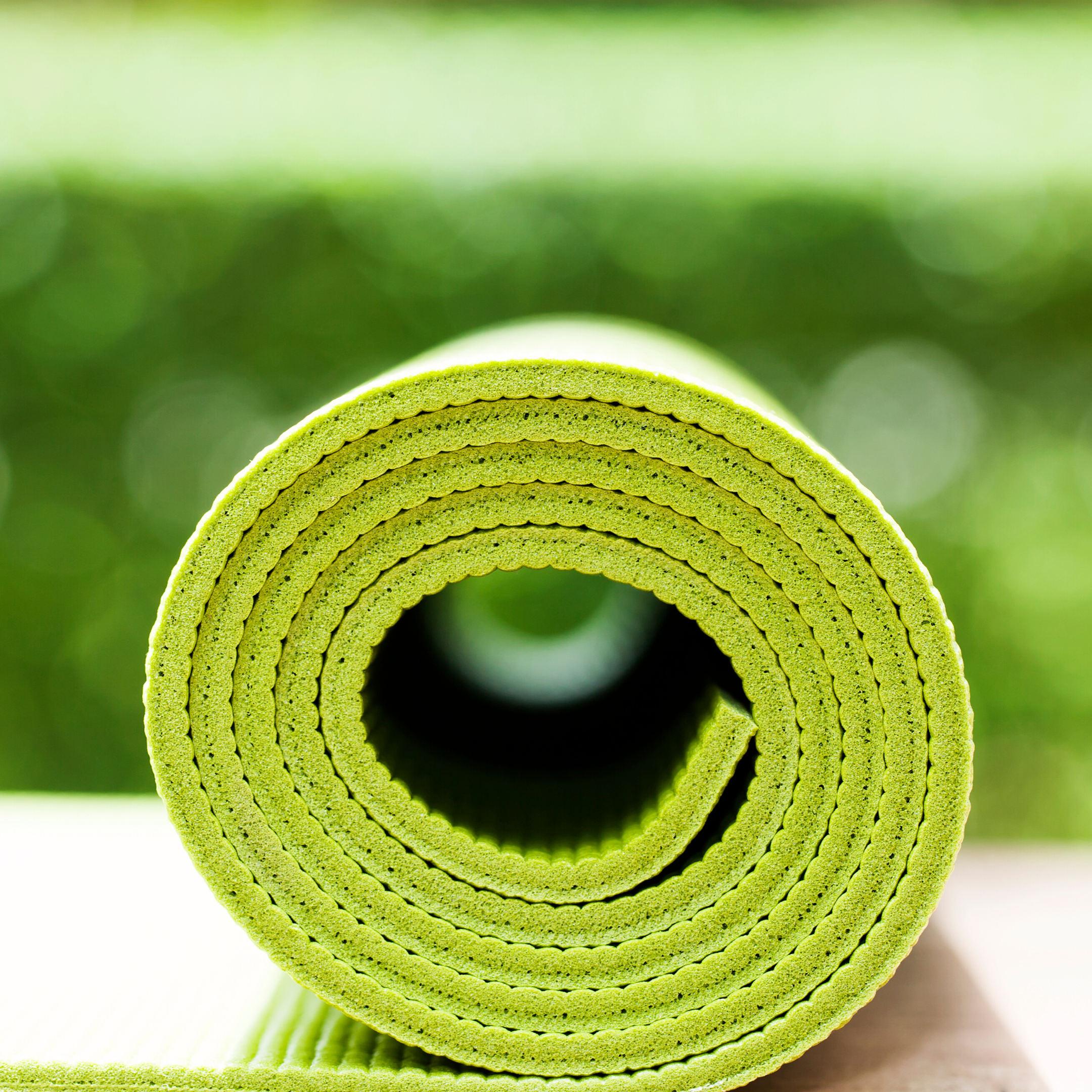 Green mat Rolled depicting Specialities & Sports Nutrition